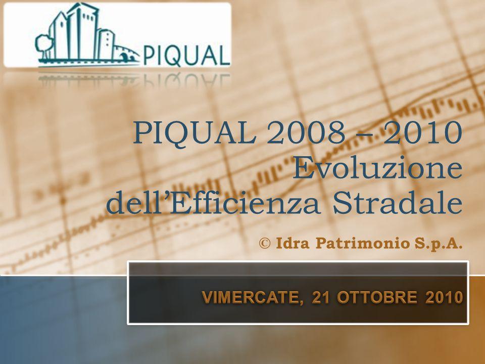 ➲ Inizio PIQUAL anno 2008 (aprile) Comuni di Agrate, Pessano, Sulbiate, Basiano, Masate, Gorgonzola.
