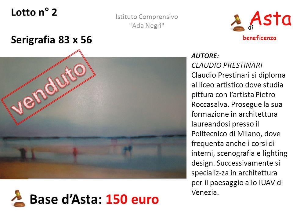 Asta beneficenza di Lotto n° 13 PAESAGGIO Olio su tela 60 x 40 AUTORE: GRASSI Base d'Asta: 100 euro Istituto Comprensivo Ada Negri