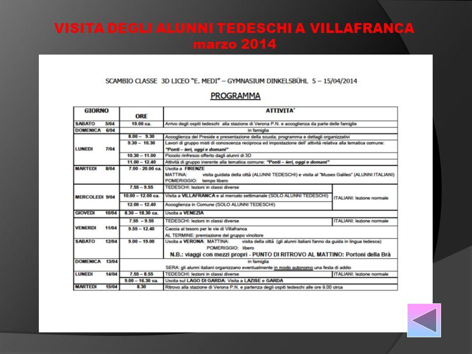 a.s.2000/01 ANTICHI MESTIERI SCOMPARSI a.s. 2001/02 CUCINA ITALIANA E TEDESCA a.s.