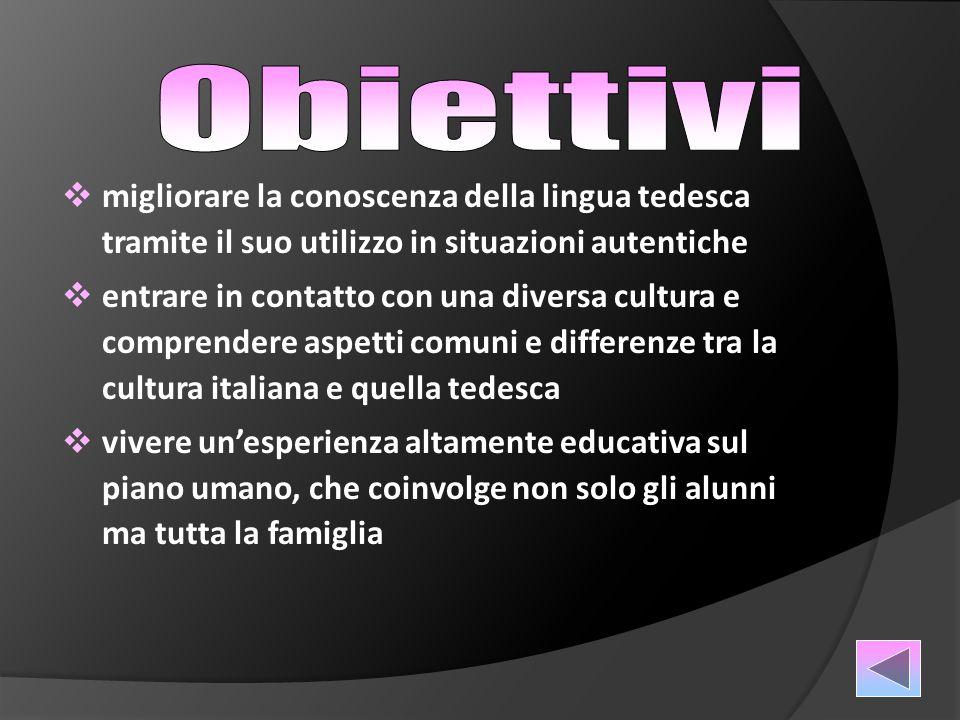 Lo scambio interessa per l'a.s. 2014/15 gli alunni della classe 3D del Liceo Linguistico.