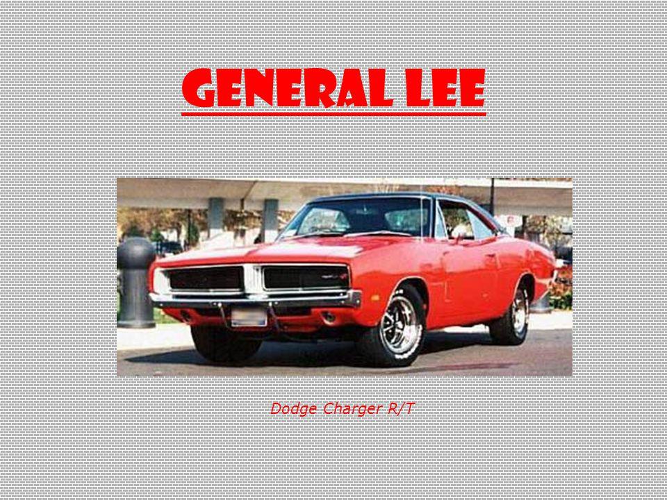 GENERAL LEE Dodge Charger R/T