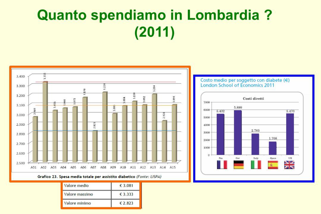 Quanto spendiamo in Lombardia (2011)