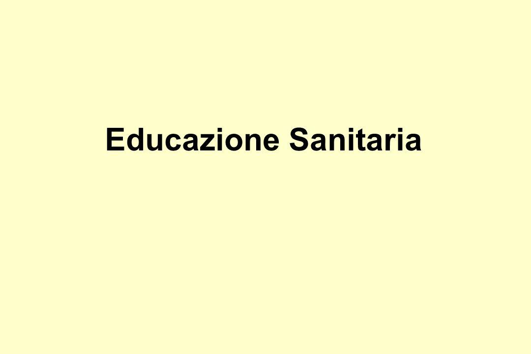 Educazione Sanitaria