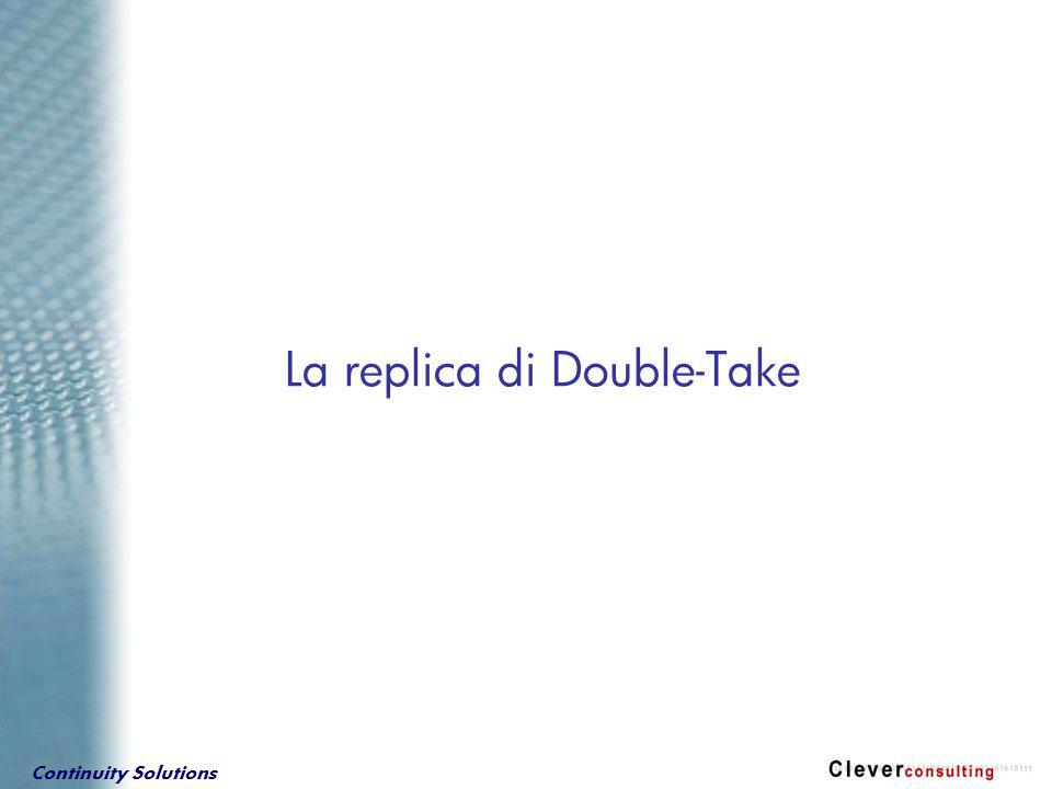 Continuity Solutions La replica di Double-Take