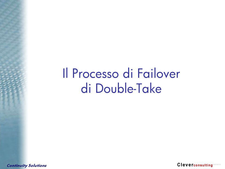 Continuity Solutions Il Processo di Failover di Double-Take