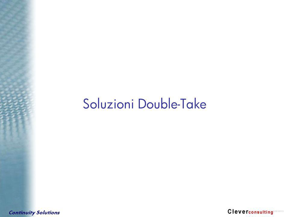 Continuity Solutions Soluzioni Double-Take