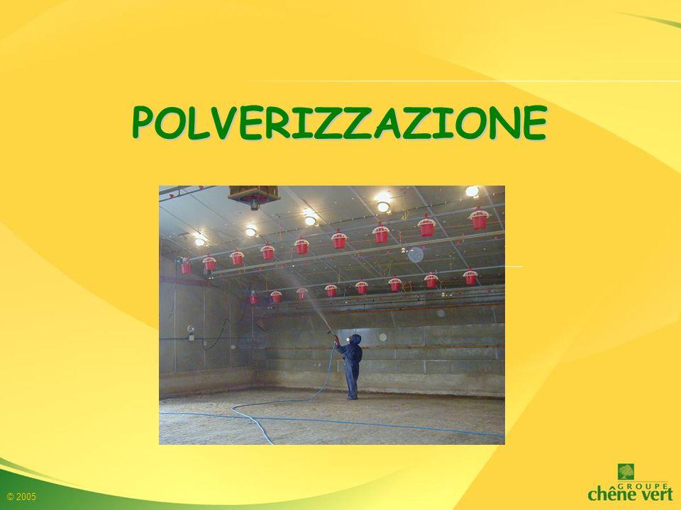 © 2005 POLVERIZZAZIONE