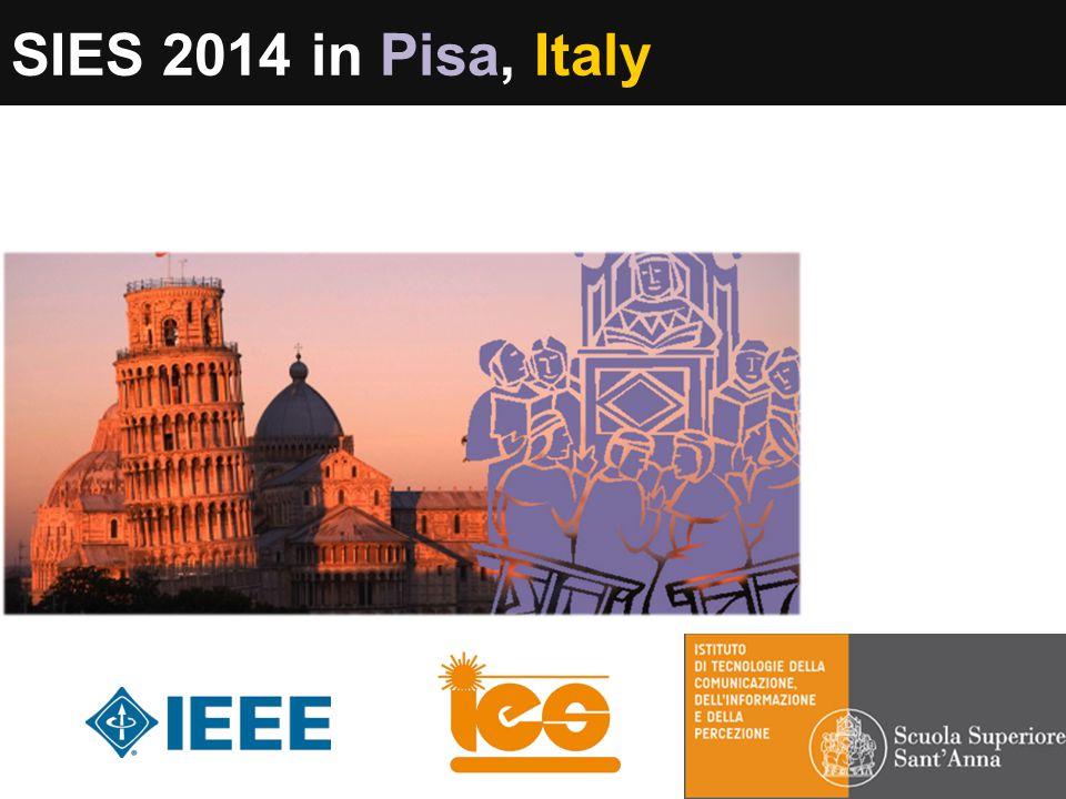 SIES 2014 in Pisa, Italy