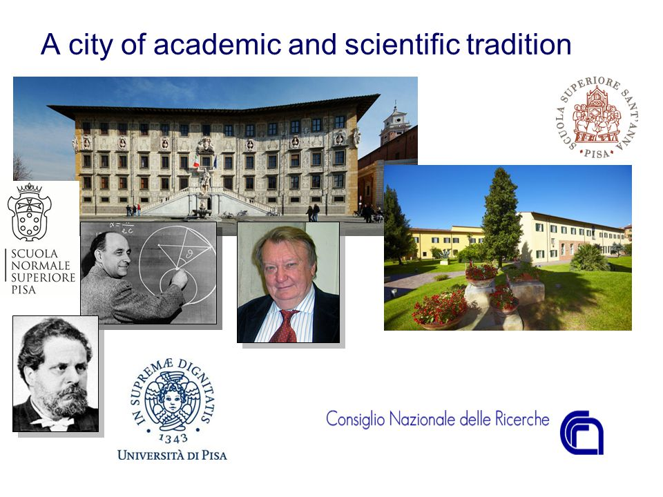 A city of academic and scientific tradition