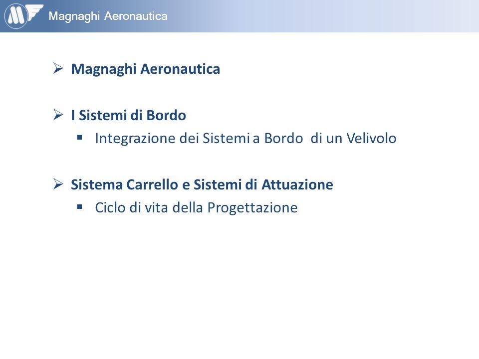 Magnaghi Aeronautica  Magnaghi Aeronautica  I Sistemi di Bordo  Integrazione dei Sistemi a Bordo di un Velivolo  Sistema Carrello e Sistemi di Att