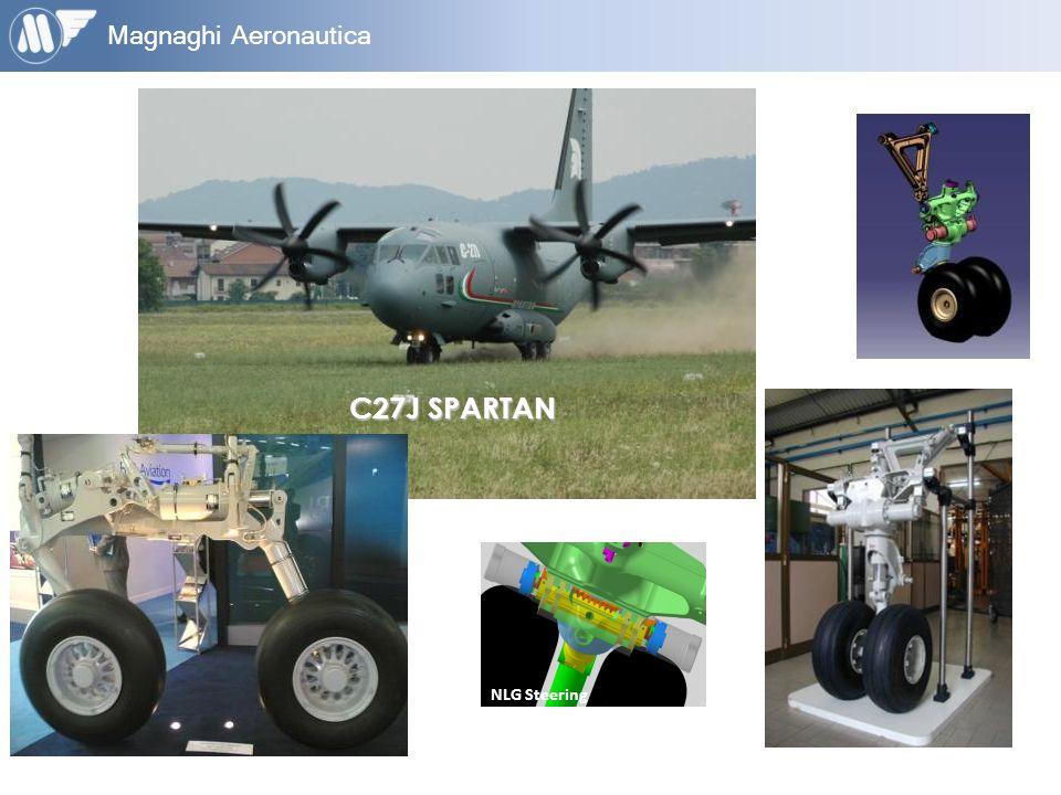 Magnaghi Aeronautica C27J SPARTAN NLG Steering