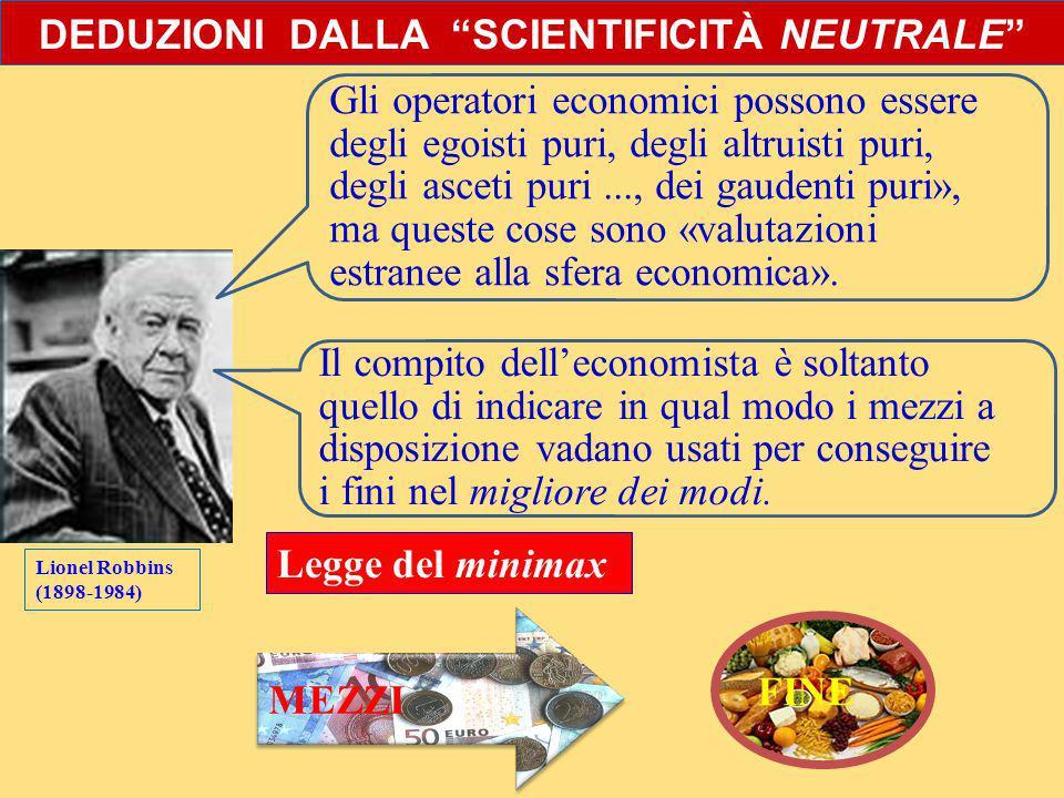 LOGICA ECONOMICA: PRINCIPIO DEL MINIMAX
