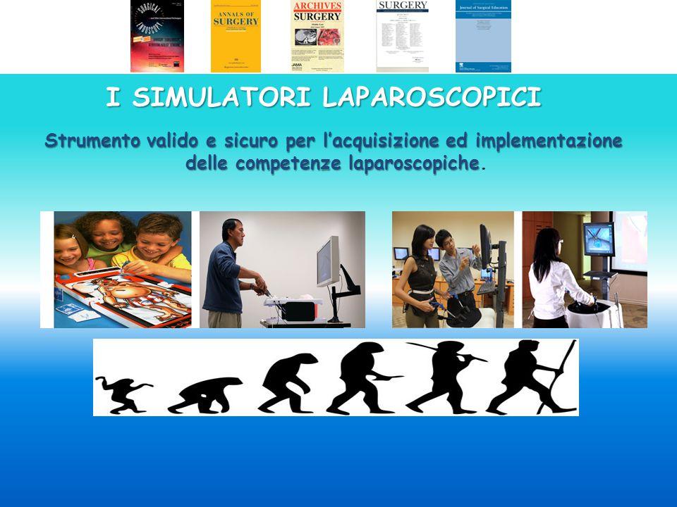 Simulatore laparoscopico dotato di force feedback con visualizzazione realistica della cavità addominale..