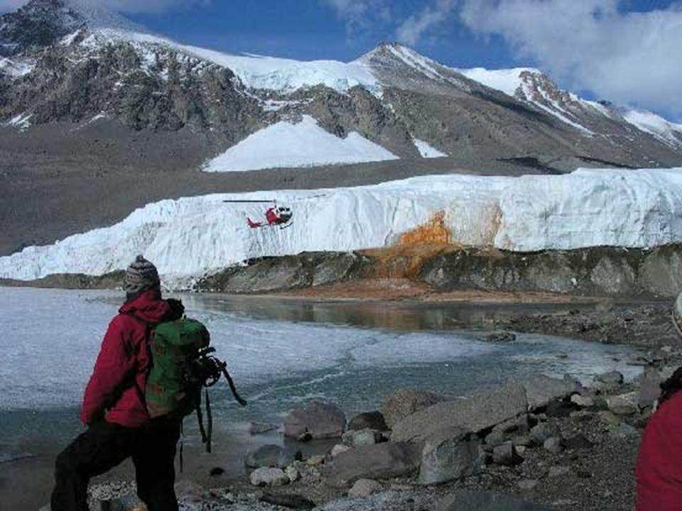 Blood Falls è uno dei paesaggi più belli e straordinari dell Antartide.