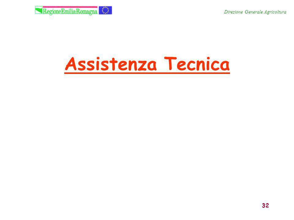 32 Assistenza Tecnica Direzione Generale Agricoltura