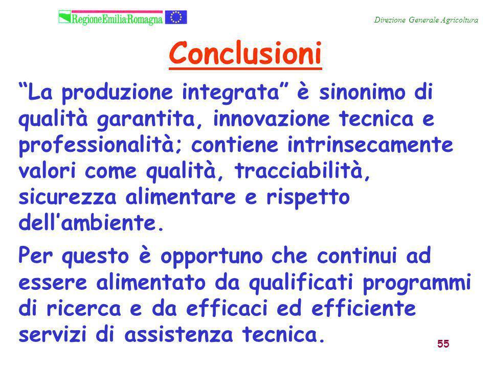 """55 """"La produzione integrata"""" è sinonimo di qualità garantita, innovazione tecnica e professionalità; contiene intrinsecamente valori come qualità, tra"""