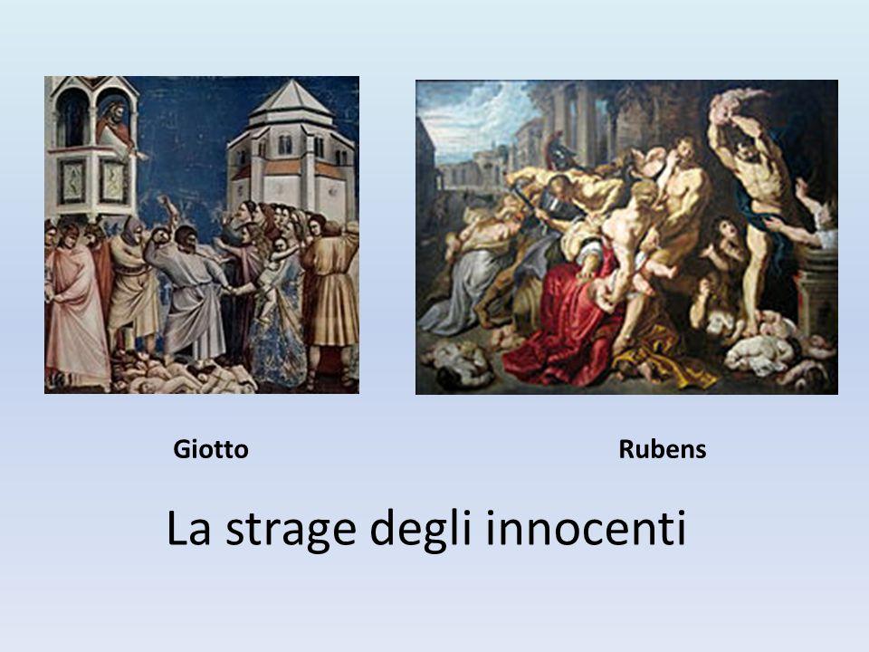 La strage degli innocenti GiottoRubens