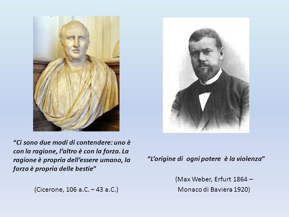 """""""Ci sono due modi di contendere: uno è con la ragione, l'altro è con la forza. La ragione è propria dell'essere umano, la forza è propria delle bestie"""