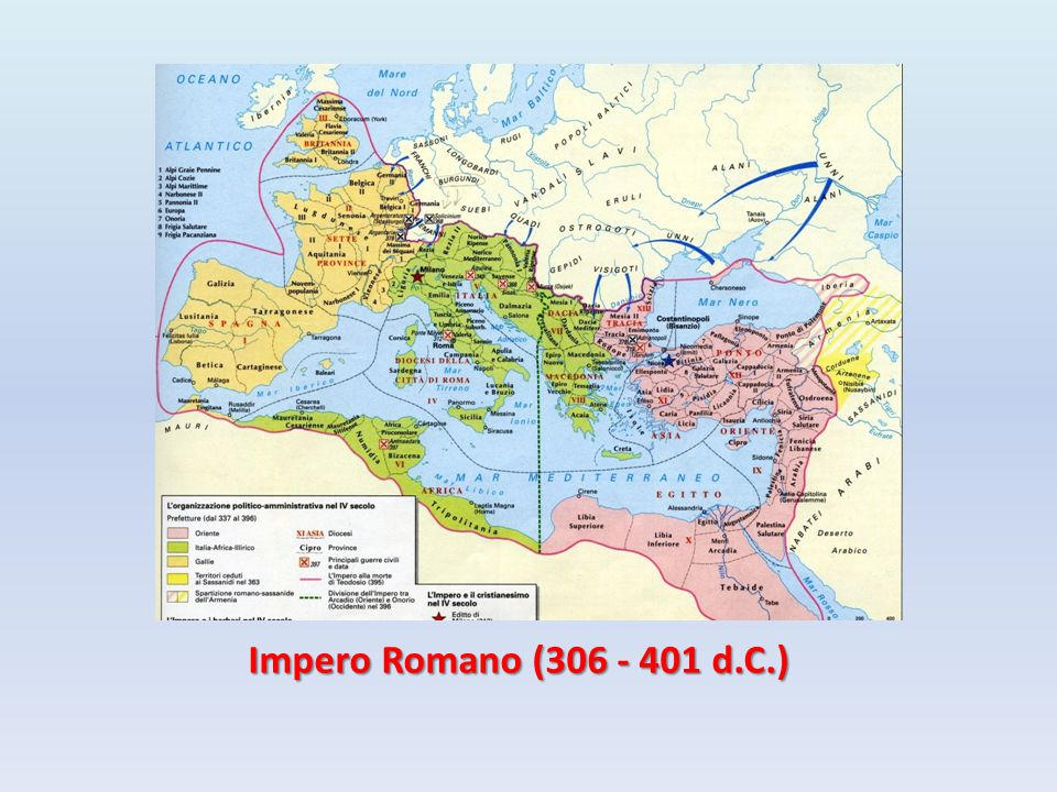 Impero Romano (306 - 401 d.C.)