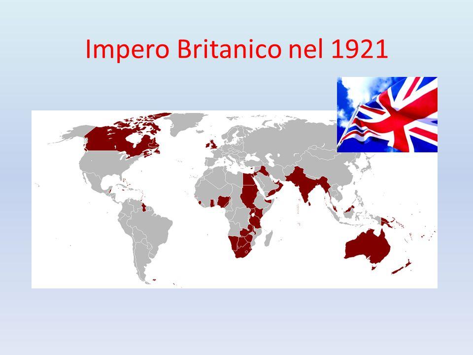 Impero Britanico nel 1921