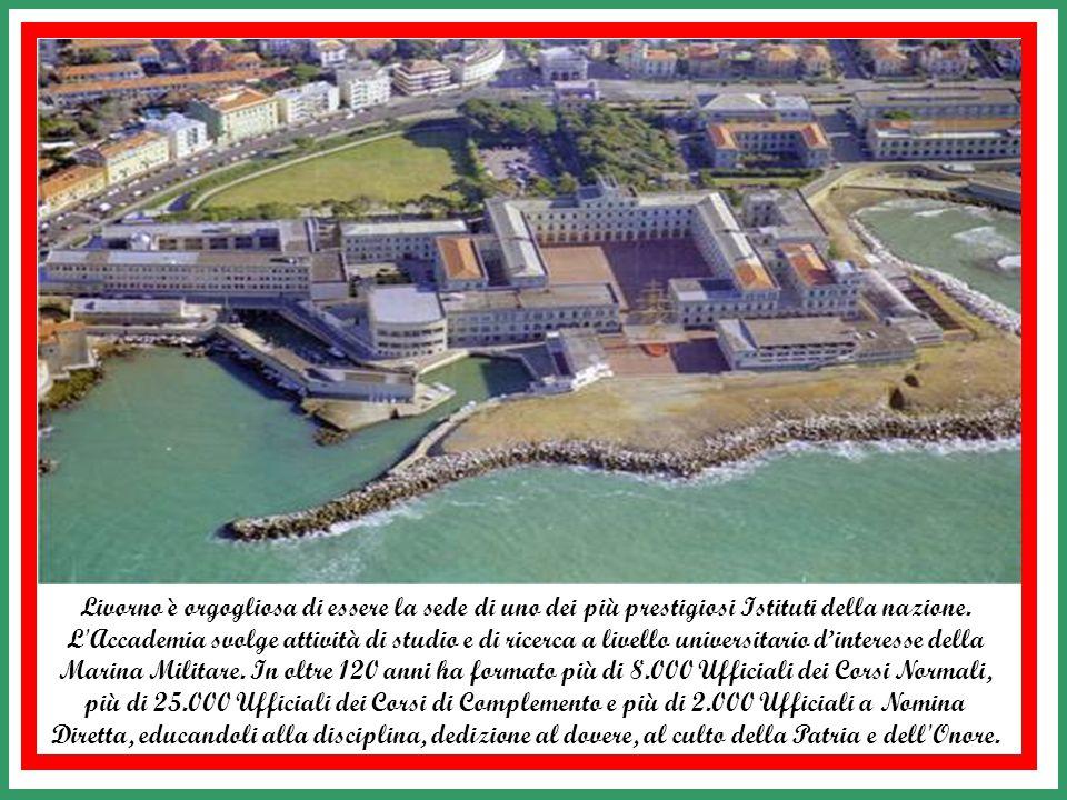 L' Accademia Navale di Livorno nasce il 6 Novembre 1881 dalla fusione delle Scuole della Marina di Genova e di Napoli, ereditate con l'Unità d'Italia,