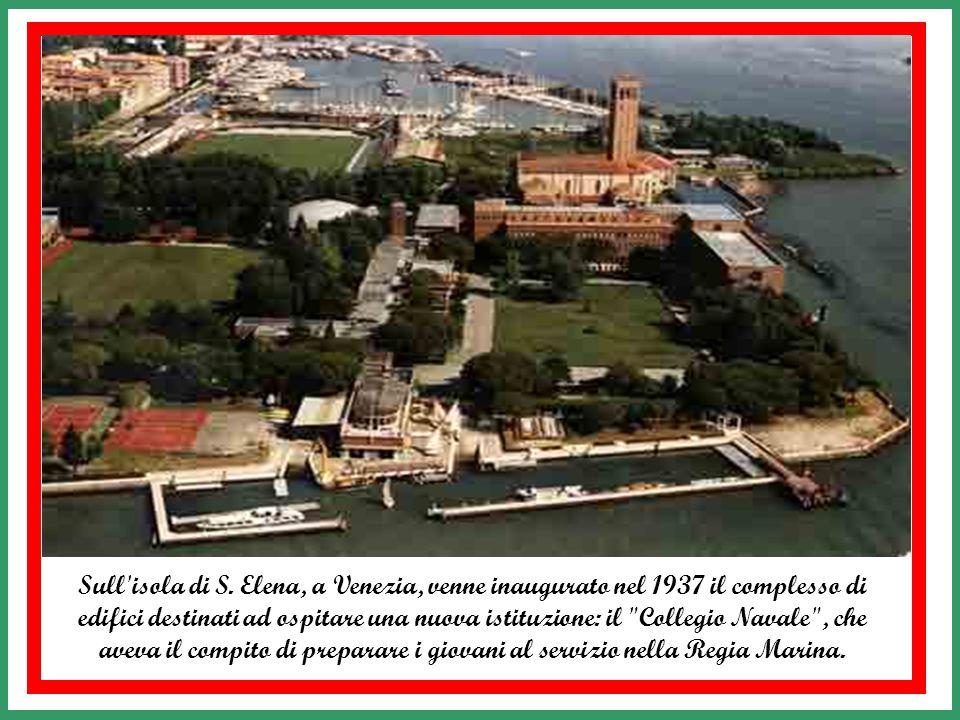 Successivamente fu ricostituito e condiviso con l'Academia navale di Brindisi fino alla fine della seconda guera mondiale. Nel novembre 1945 la sede f