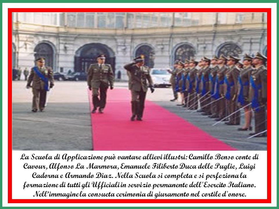 La Scuola di Applicazione e Istituto di Studi Militari dell'Esercito di Torino ebbe origine nel Regno di Sardegna sabaudo nel periodo 1739- 1816 con l