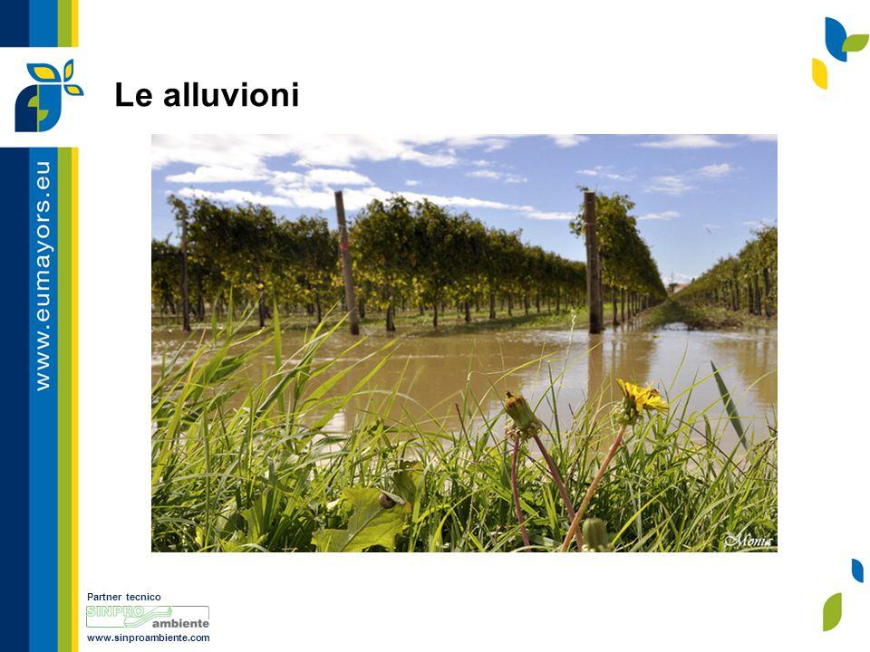 Partner tecnico www.sinproambiente.com Le alluvioni