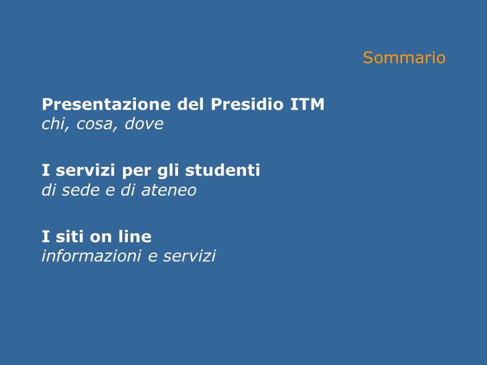 Incontro informativo Facoltà di Giurisprudenza Presentazione del Presidio ITM Lunedì 20 settembre 2004jus.unitn.itGiuseppe Chiasera Sommario Presentaz