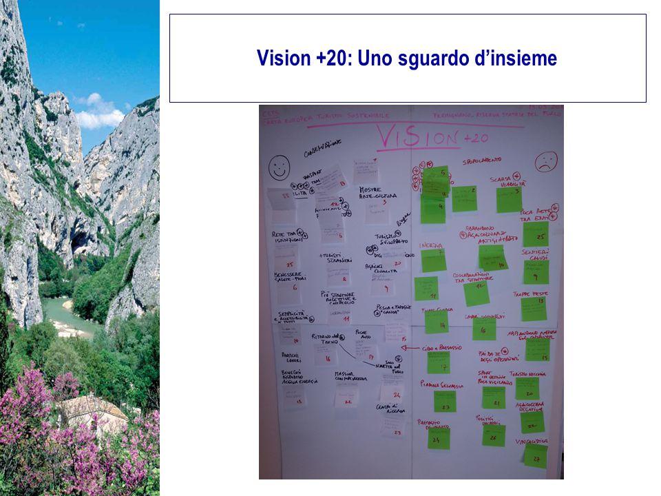 Vision +20: Uno sguardo d'insieme