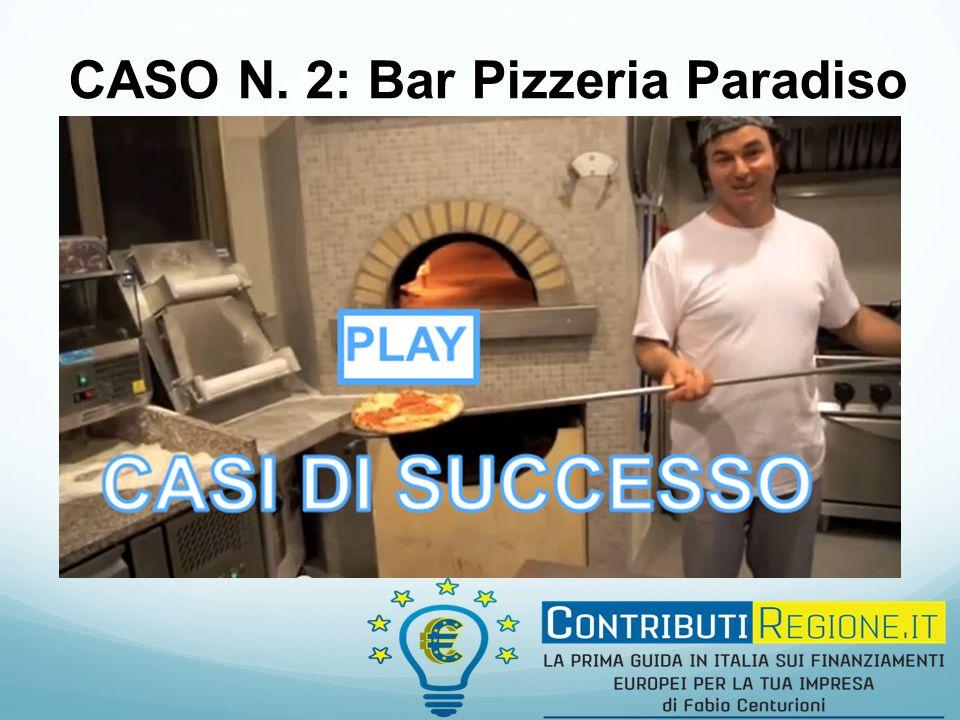 CASO N. 2: Bar Pizzeria Paradiso
