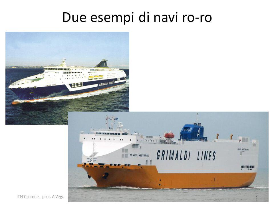 Due esempi di navi ro-ro 18ITN Crotone - prof. A.Vega