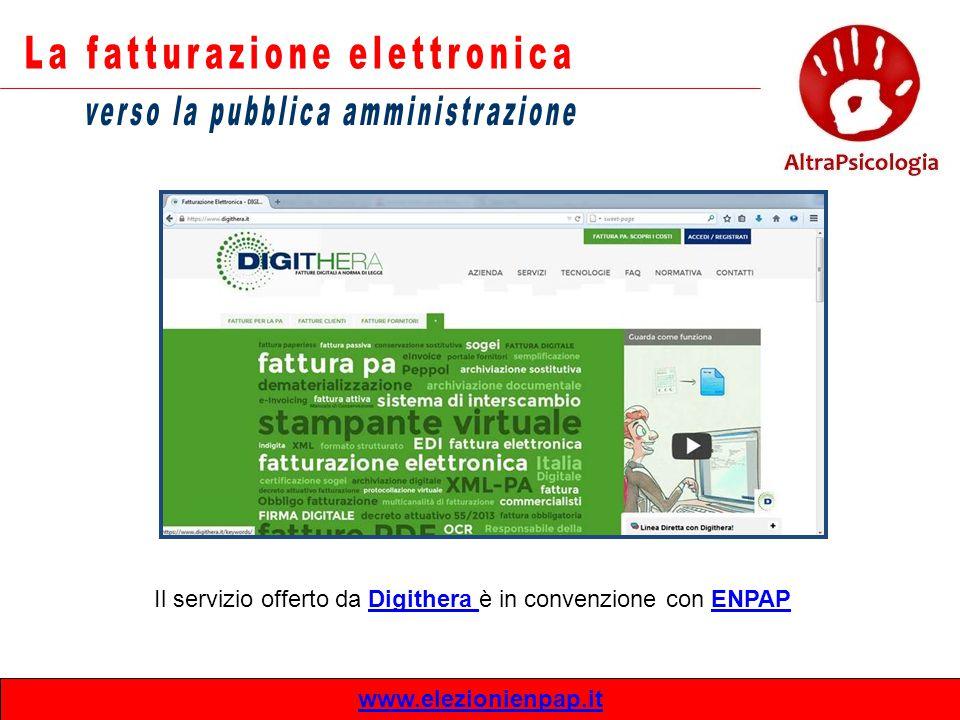 www.elezionienpap.it Il servizio offerto da Digithera è in convenzione con ENPAPDigithera ENPAP