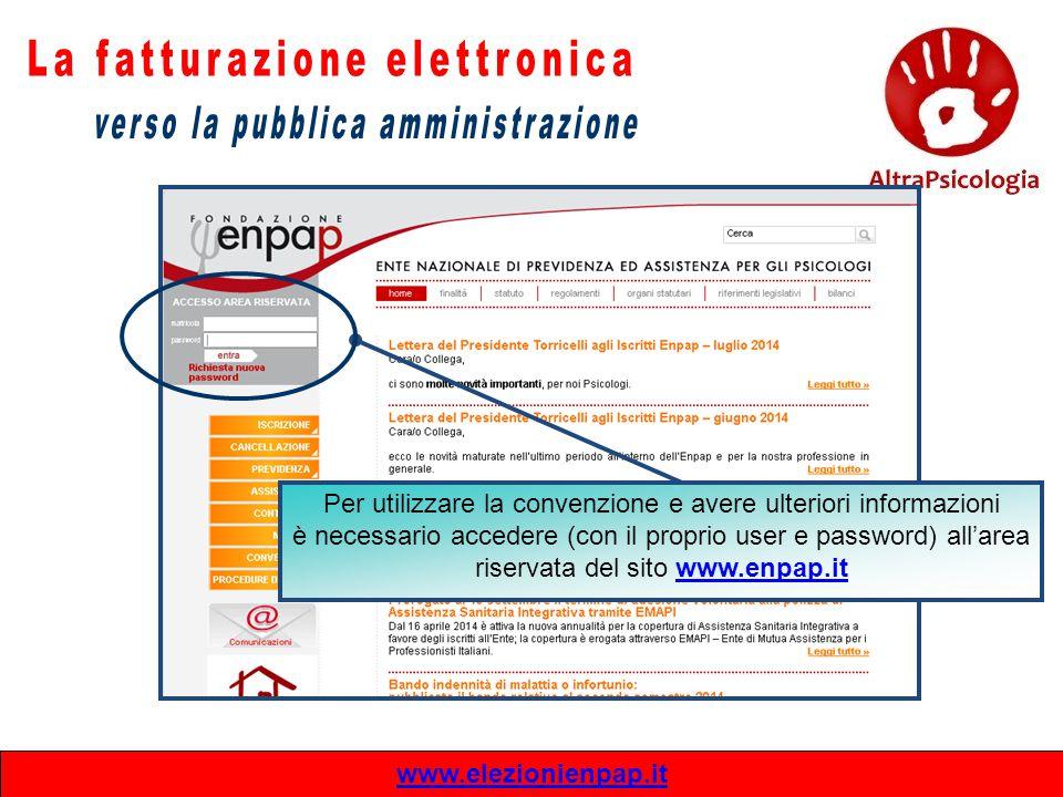 www.elezionienpap.it Per utilizzare la convenzione e avere ulteriori informazioni è necessario accedere (con il proprio user e password) all'area rise