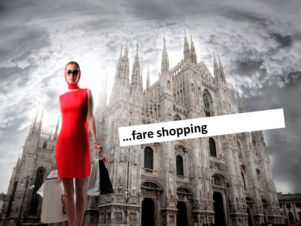 …fare shopping
