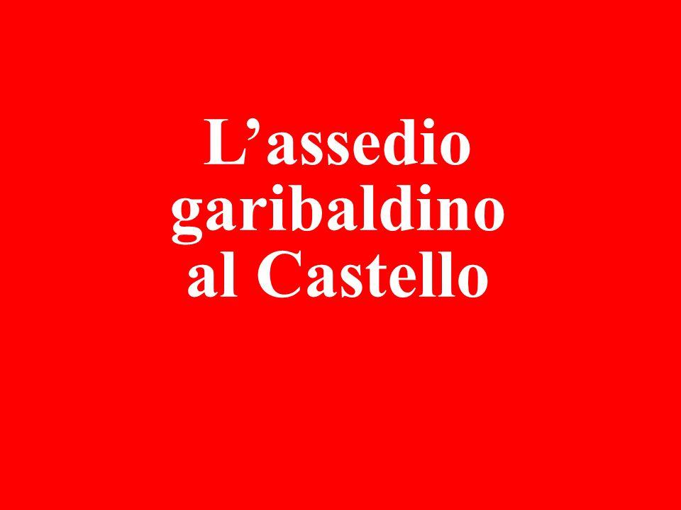 L'assedio garibaldino al Castello