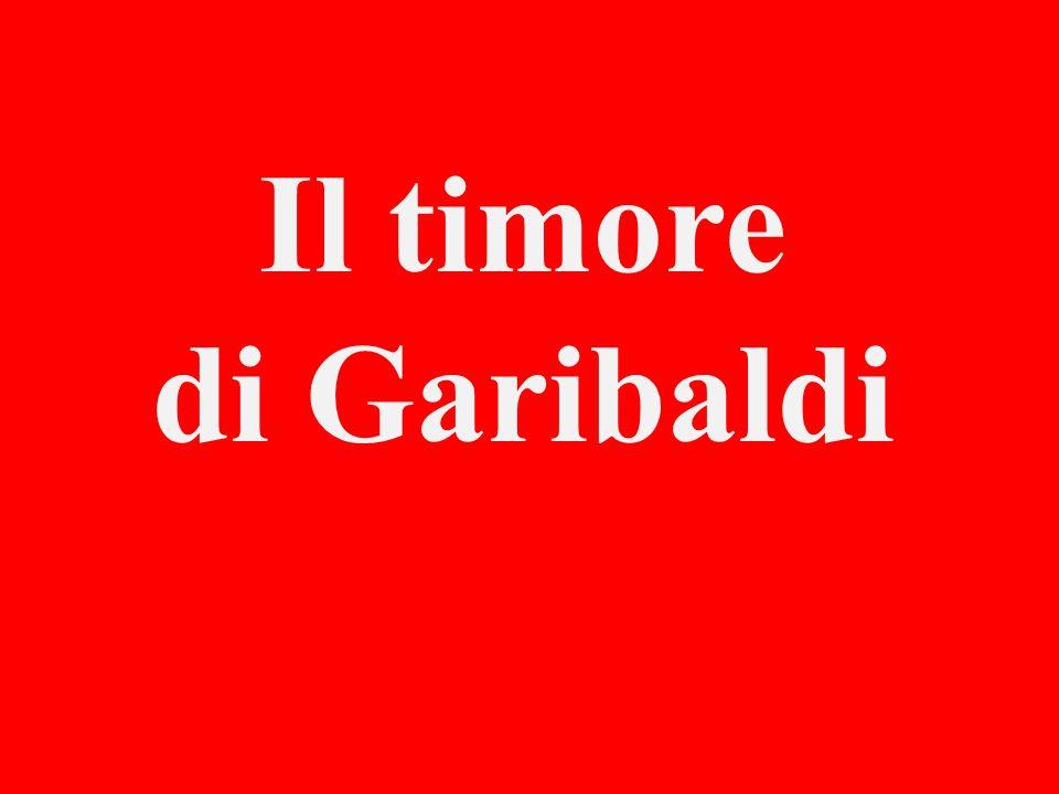 Il timore di Garibaldi