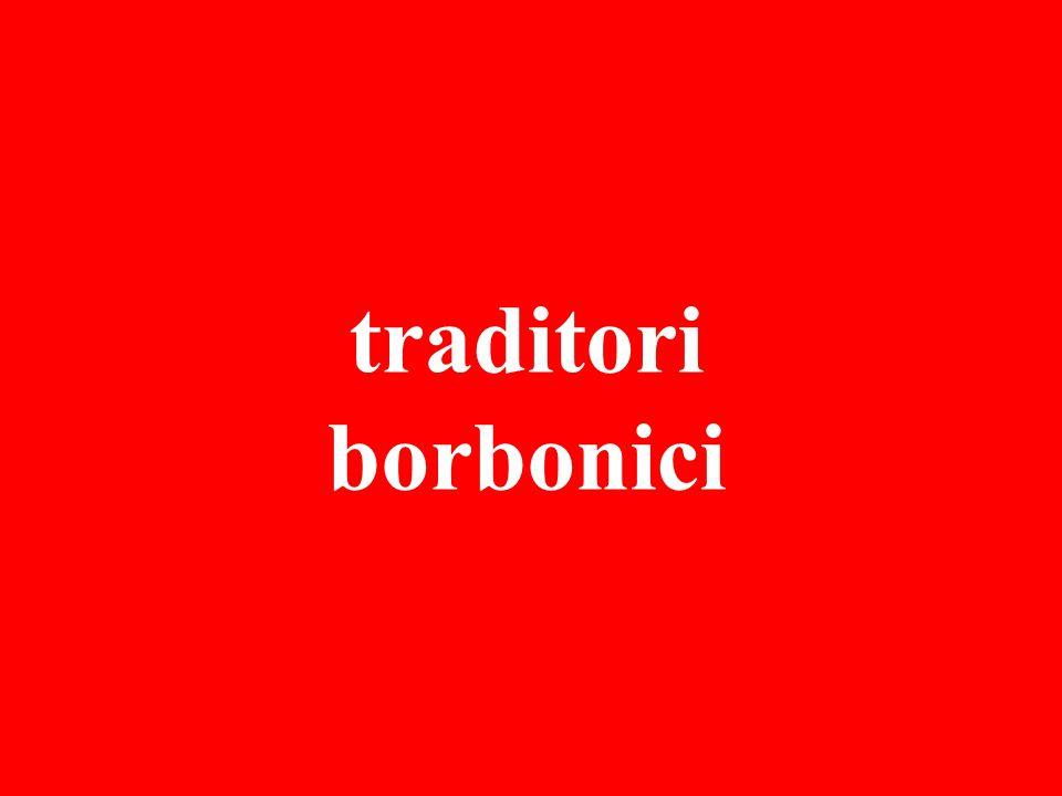 traditori borbonici