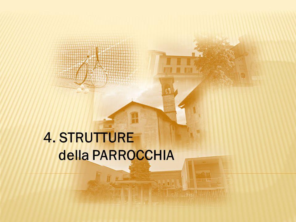 4. STRUTTURE della PARROCCHIA