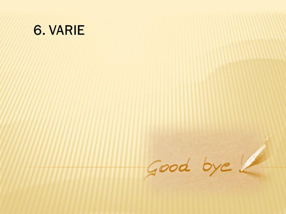 6. VARIE
