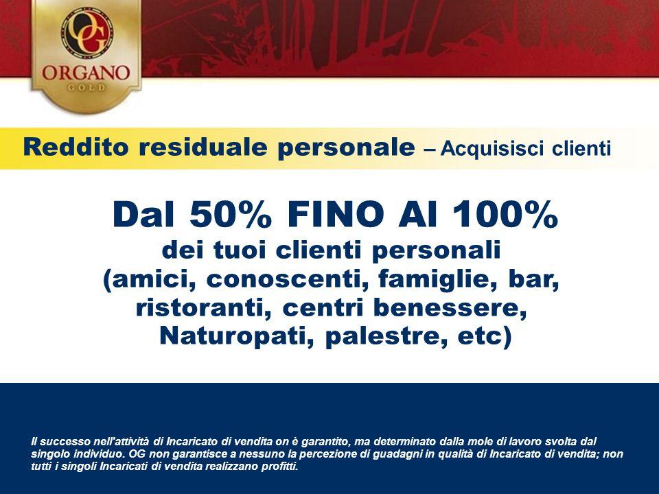 Reddito residuale personale – Acquisisci clienti Il successo nell'attività di Incaricato di vendita on è garantito, ma determinato dalla mole di lavor