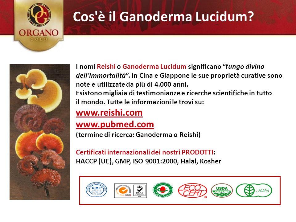 """2.) Ganoderma Lucidum I nomi Reishi o Ganoderma Lucidum significano """"fungo divino dell'immortalità"""". In Cina e Giappone le sue proprietà curative sono"""