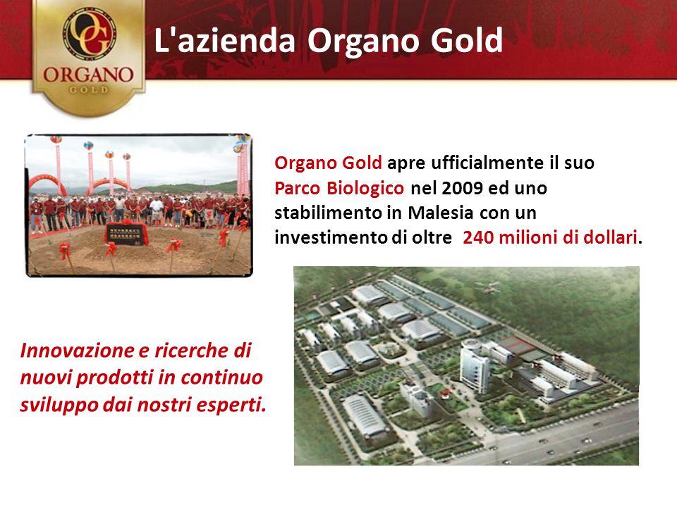 Organo Gold apre ufficialmente il suo Parco Biologico nel 2009 ed uno stabilimento in Malesia con un investimento di oltre 240 milioni di dollari. Inn