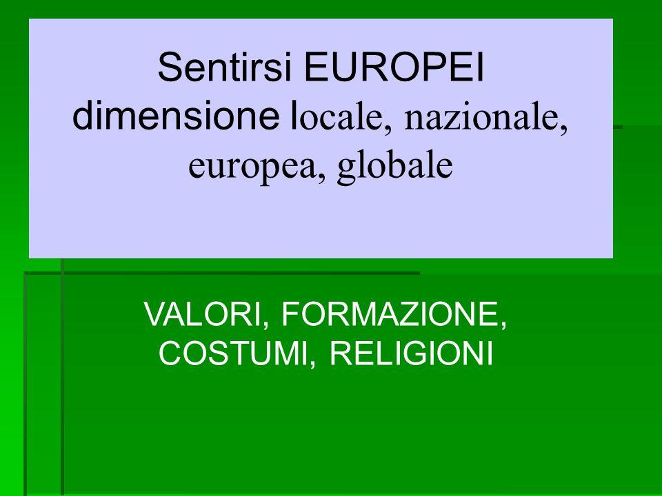 Proposte per la dimensione europea in educazione Contratti di apprendimento - rapporto scuola ambiente - studenti protagonisti attivi - ricerche sul campo - giornale a scuola, anche insieme on line ecc.