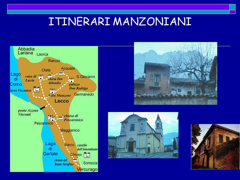 ITINERARI MANZONIANI