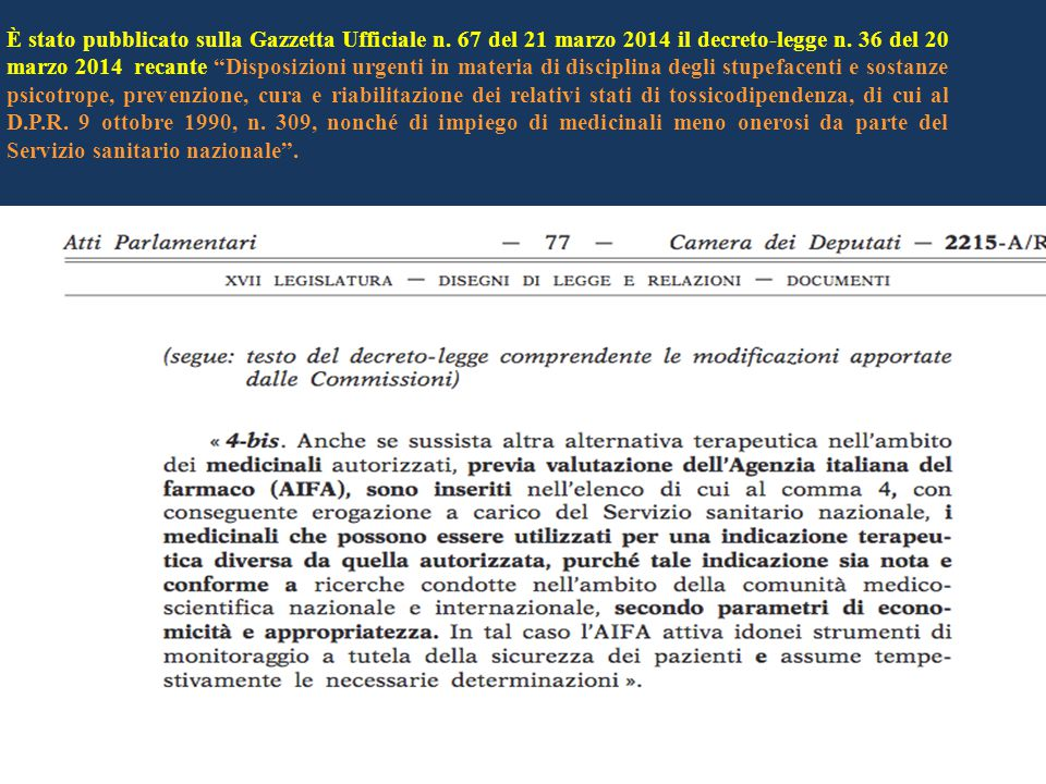 """È stato pubblicato sulla Gazzetta Ufficiale n. 67 del 21 marzo 2014 il decreto-legge n. 36 del 20 marzo 2014 recante """"Disposizioni urgenti in materia"""