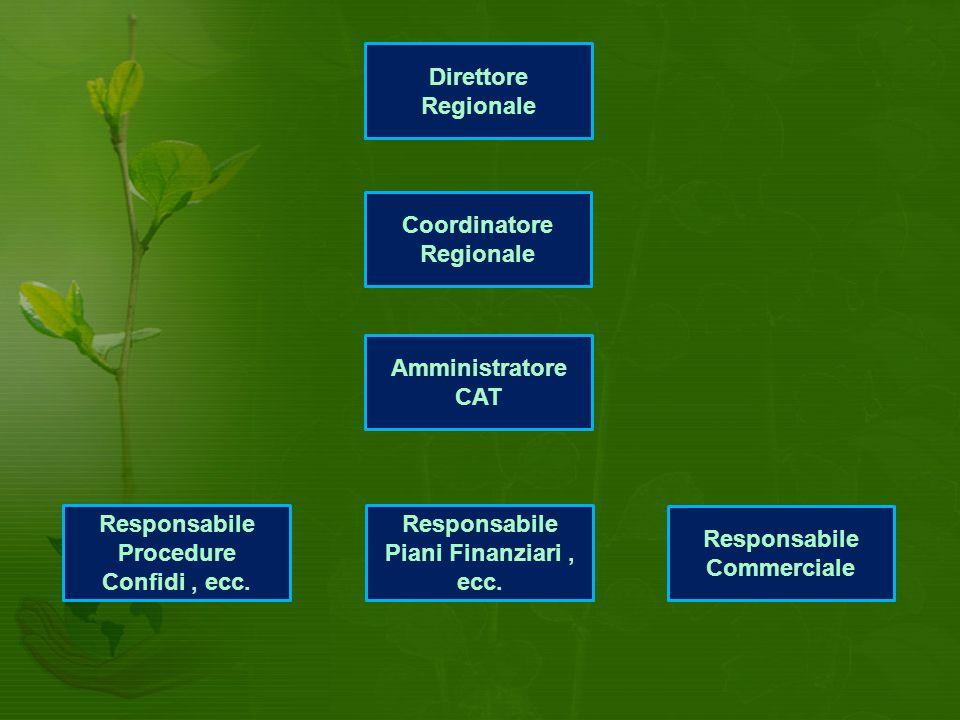 Direttore Regionale Coordinatore Regionale Responsabile Procedure Confidi, ecc.