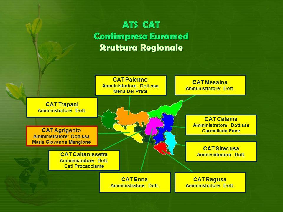 CAT Agrigento Amministratore: Dott.ssa Maria Giovanna Mangione CAT Messina Amministratore: Dott.