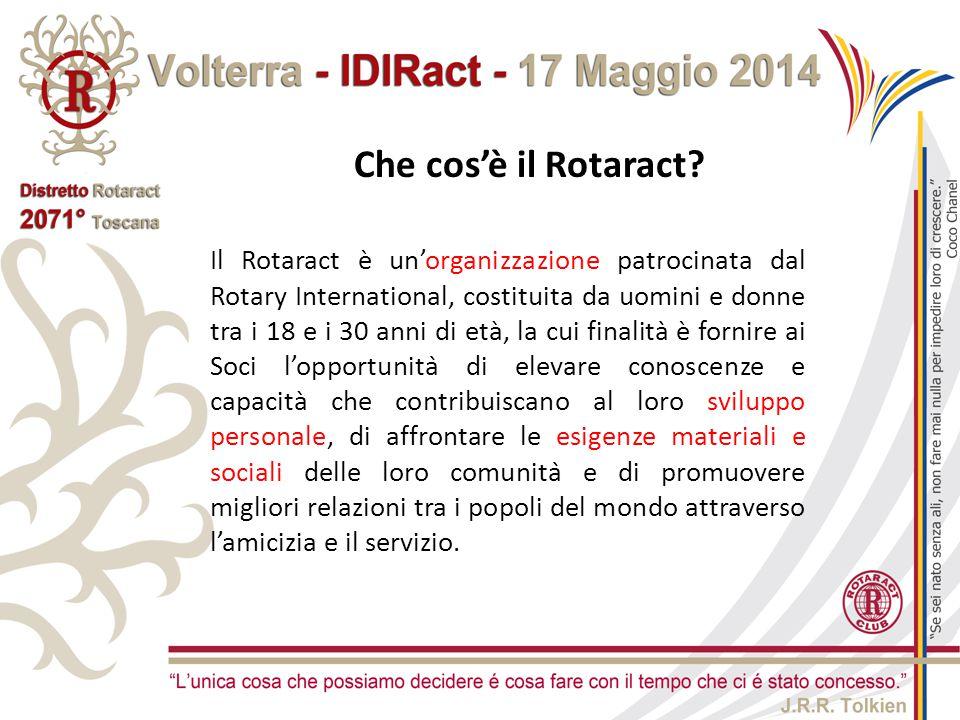 Il Rotaract è un'organizzazione patrocinata dal Rotary International, costituita da uomini e donne tra i 18 e i 30 anni di età, la cui finalità è fo