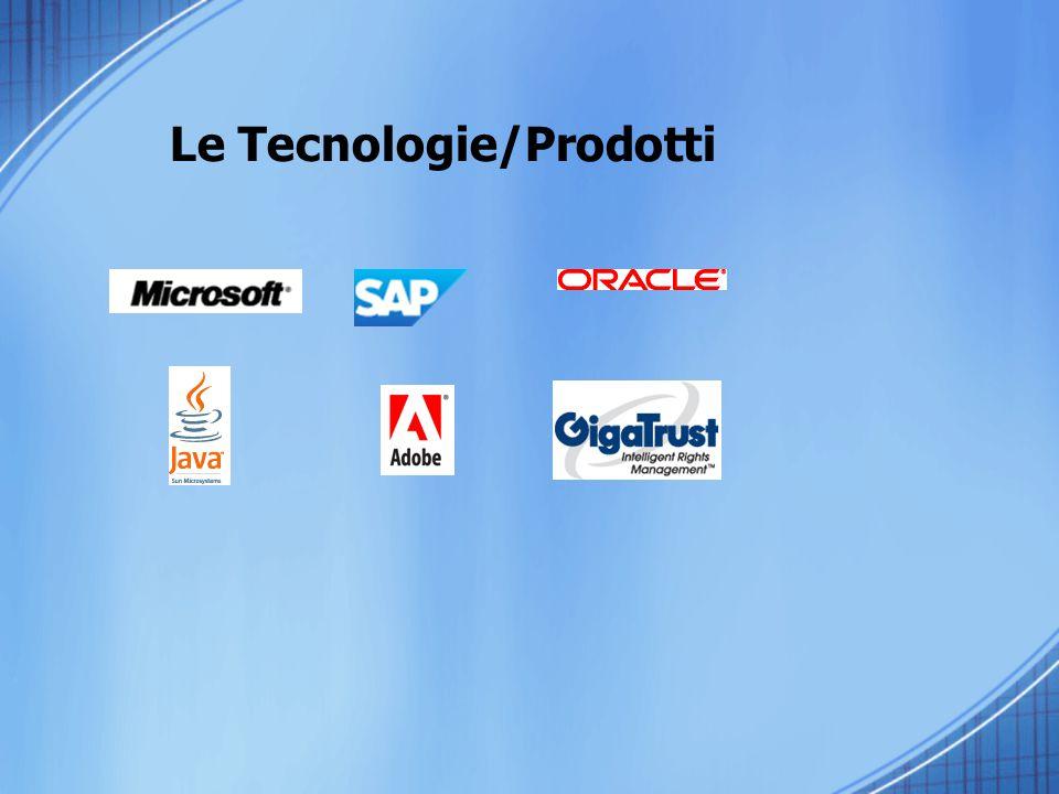 Le Tecnologie/Prodotti
